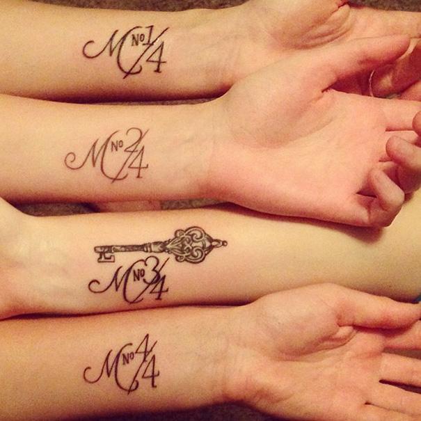 25 Ideias Interessantes De Tatuagens Para Irmãs