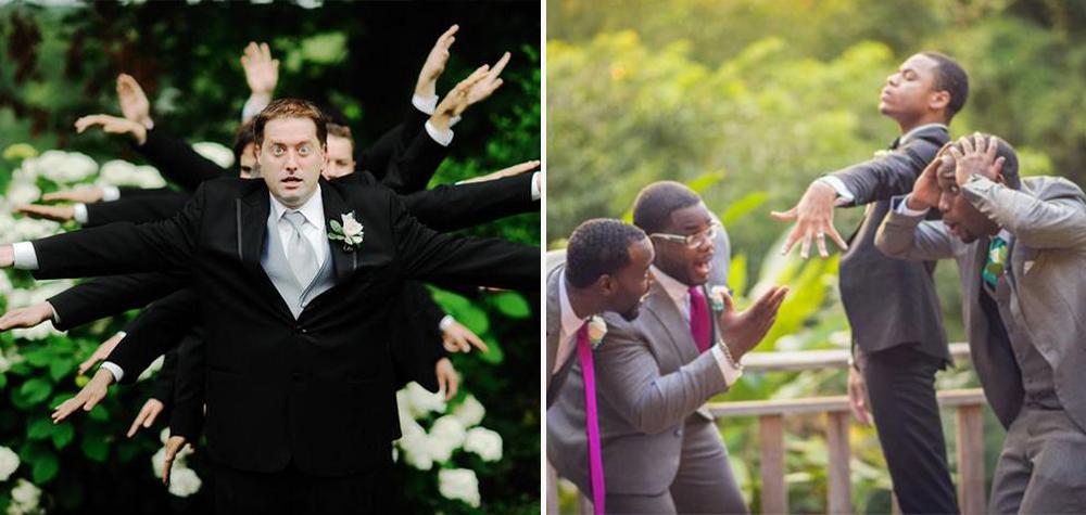 21 Noivos que mitaram em suas fotos de casamento