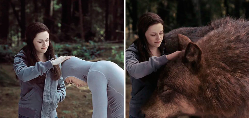 20 Imagens mostrando o surpreendente antes e depois de cenas famosas da TV e do cinema