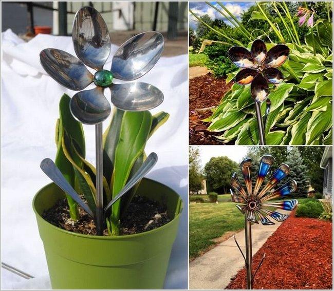 mini jardim reciclado: coloridas foram feitas com pratos, tigelas e mini vasos de vidro