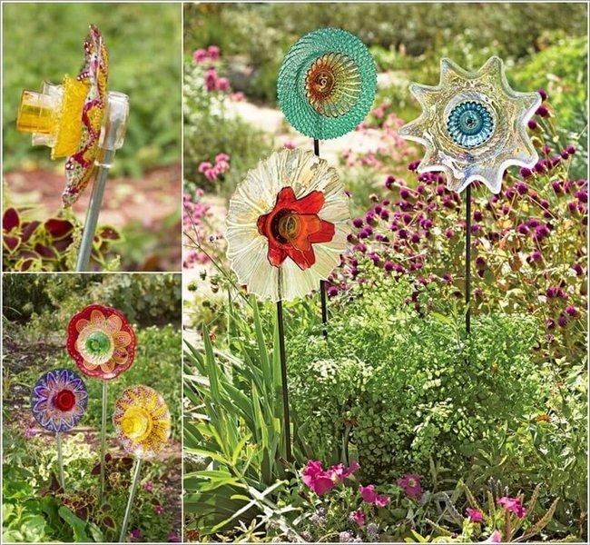 mini jardim reciclado: feitas de materiais reciclados que podem alegrar o seu jardim