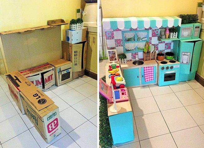 mini-cozinha-de-papelão-1