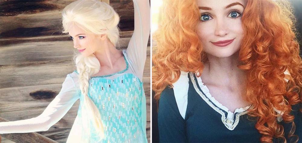 Esta mulher se veste como as princesas da Disney por um lindo motivo