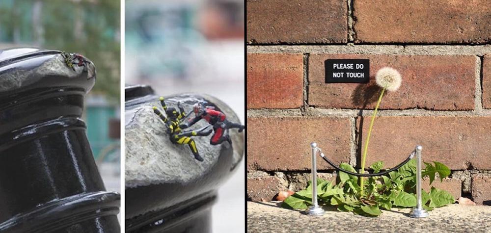 """21 Atos de """"vandalismo"""" que até mereciam um prêmio pela criatividade"""