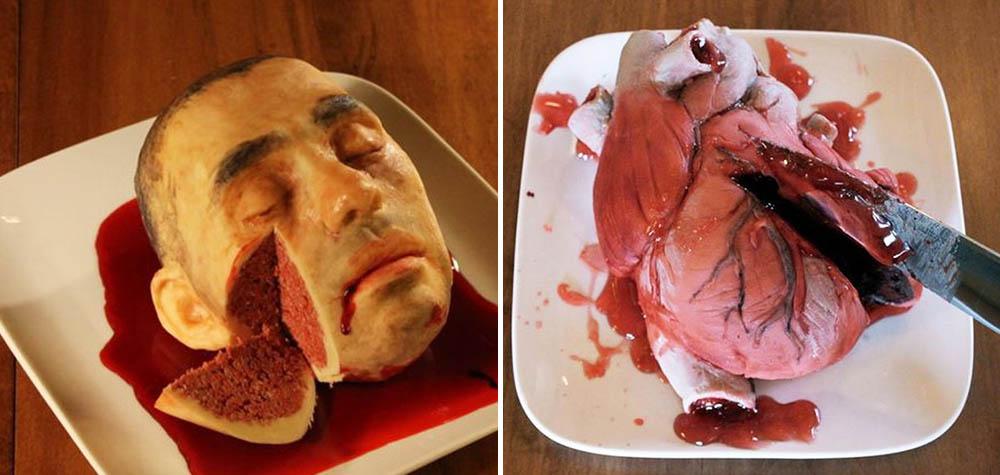 Esses 10 bolos são tão bizarros que você provavelmente recusaria um pedacinho