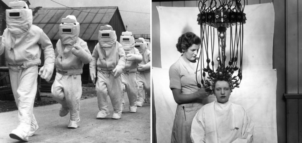 23 Fotos que mostram invenções e costumes bizarros de antigamente