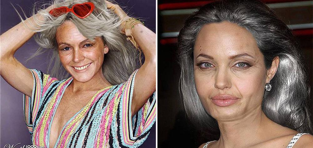 Veja como seriam essas 11 celebridades se já fossem velhas