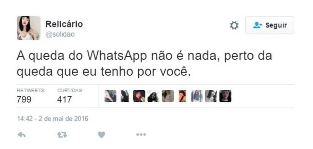 WhatsApp foi bloqueado de novo no Brasil, e a internet respondeu com muita zoeira