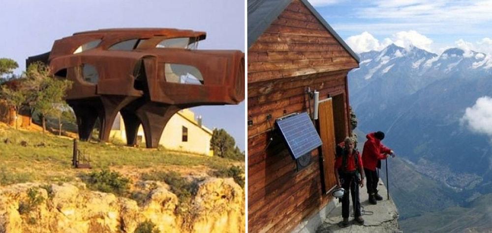"""Essas 15 casas são perfeitas para quem gosta de viver de maneira """"extrema"""""""