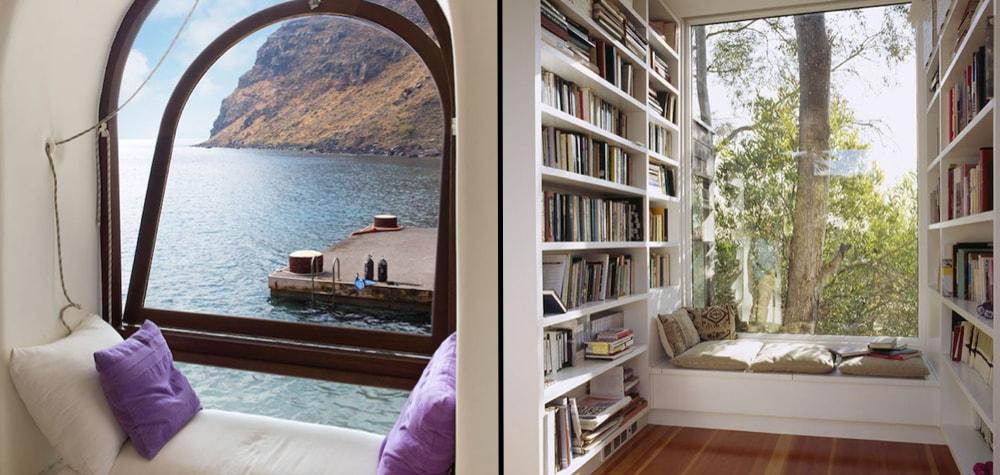 40 Lugares onde qualquer pessoa que gosta de ler daria um rim pra estar agora