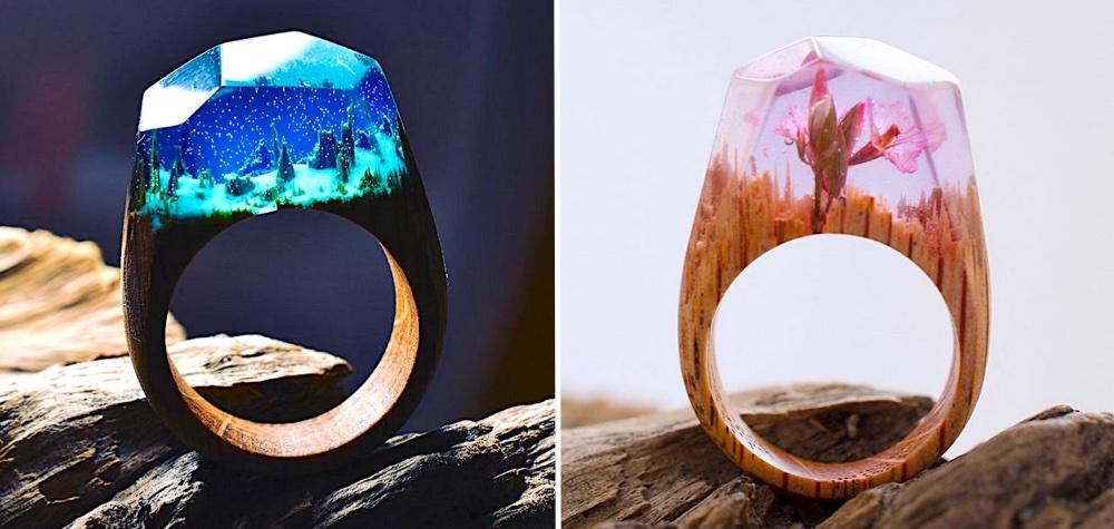 Esses anéis possuem verdadeiros mundos secretos em seu interior
