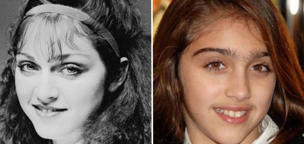 12 Fotos que mostram as incríveis semelhanças entre pais e filhos na mesma idade