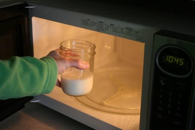 malefícios do forno microondas