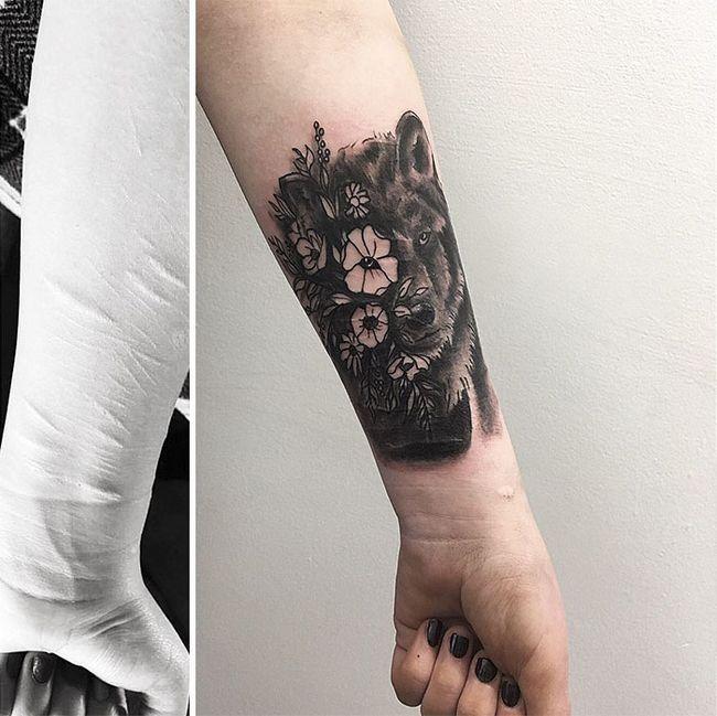 Suficiente Ela queria cobrir suas cicatrizes, mas nenhum tatuador quis ajudá  IL81
