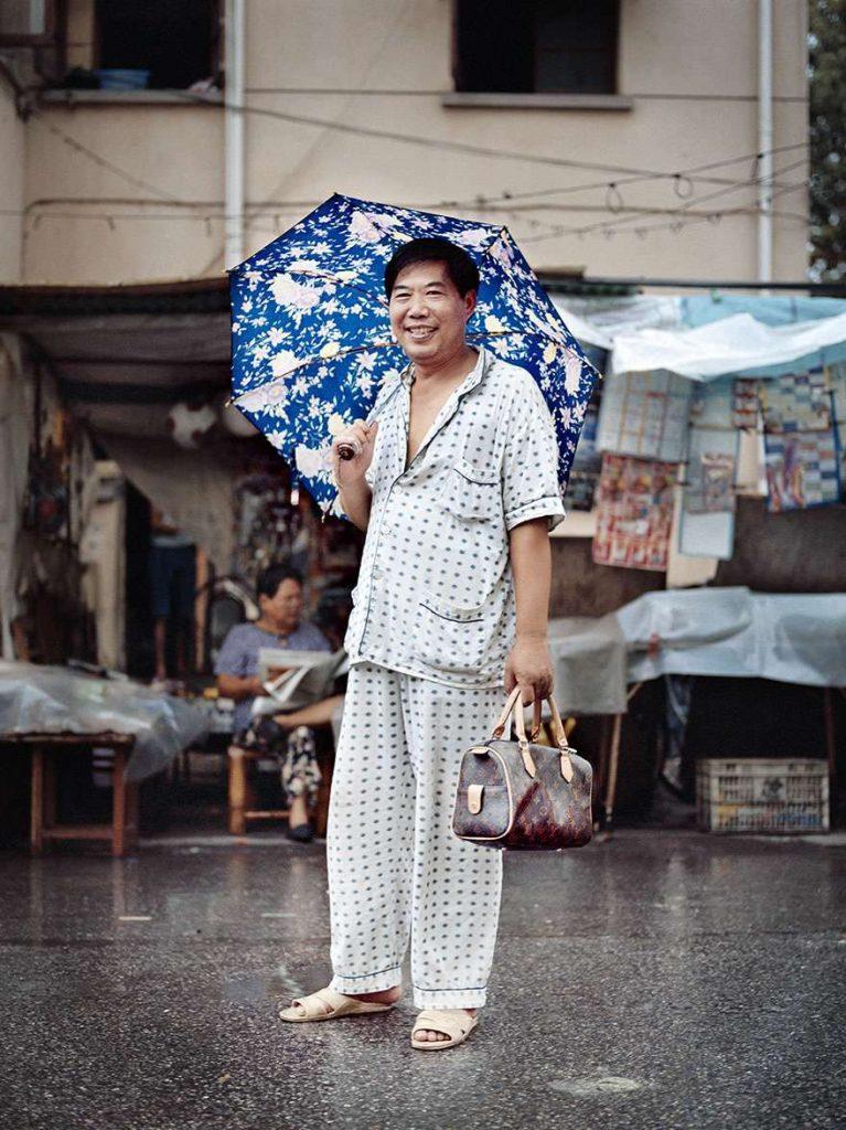 Человек в пижаме