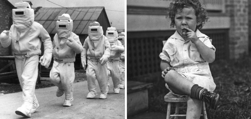 Tem Na Web - 23 Imagens de costumes e invenções bizarras do passado