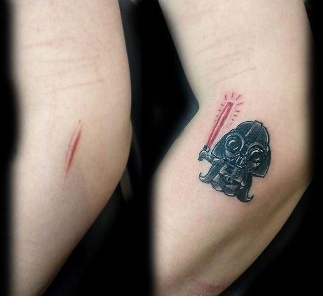 Tattoo Ideas You Can Hide: 25 Pessoas Que Fizeram Tatuagens Para Disfarçar Cicatrizes